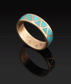 Turquoise ring - I'm not usually a huge ring girl, but this is gorgeous.