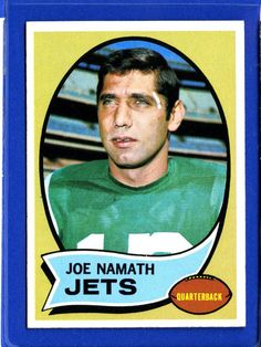 NFL Hall of Fame Quarterback Joe Wille Namath, who ruffled no small amount of feathers with his brash guarantee that his upstart AFL New York Jets would beat the established NFL powerhouse Baltimore Colts in SB III. Namath and the Jets stunned the Colts to the tune of 16-7. The Jets' victory, along with that of Kansas City the following year, proved that the AFL had indeed achieved parity with the NFL.