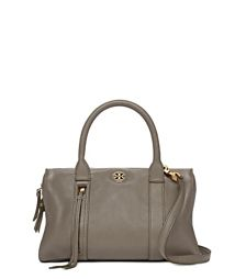 Porcini Tory Burch Brody Small Satchel