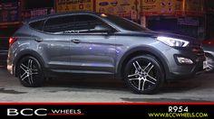 Weld Wheels, Truck Wheels, Hyundai Cars, Hyundai Vehicles, Chrome Wheels, Custom Wheels, Alloy Wheel, Tucson, Santa Fe