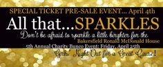 5th Annual Charity Bunco Event - Bakersfield Ronald McDonald House