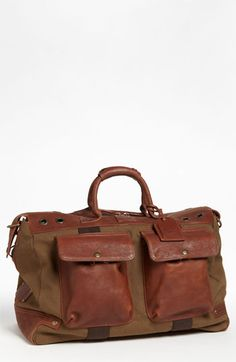 Will Leather Goods Traveler Duffel Bag | Nordstrom | tobacco/saddle $395