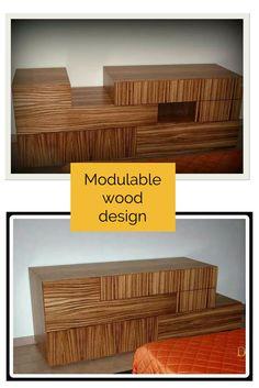 Modulable wood furniture design #doridesign #art #creativity #design #diy #wood #furniture