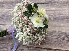 Ramo de novia de paniculata Arimany Estudi Floral