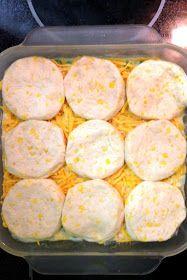 the Three Little Birdies: {recipes} Chicken & Biscuit Casserole
