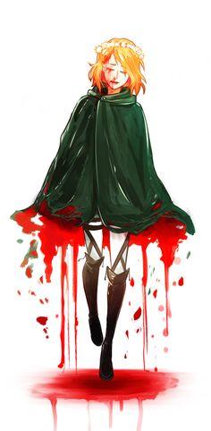 SnK: Petra's Demise by YukiHyo.deviantart.com on @deviantART