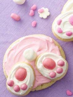 """""""Bunny Butt"""" cookies : )"""