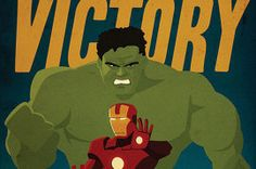 Captain America Wants You to Check Out These 'Avengers' Propaganda Posters.