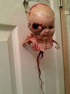 creepy, freaky doll