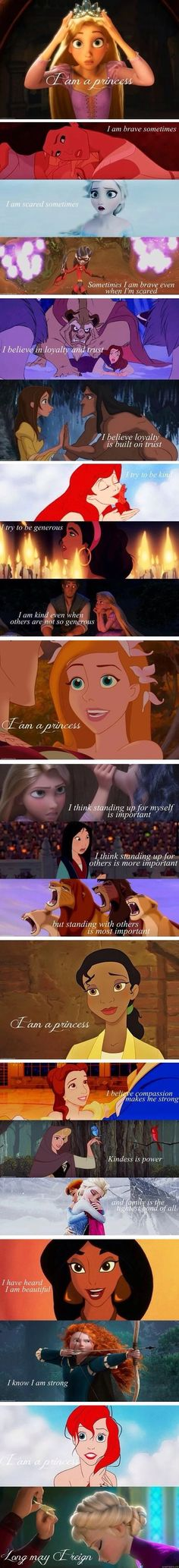 So true every girl is a princess