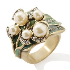 Lilly of the valley ring. #favoriteflower #birthflower #AOE