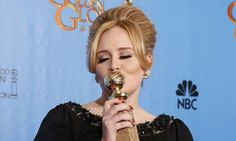 Adele at The 2013 Golden Globes Awards that took place on Sunday night on 12th of January.