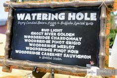 Watering Hole Beers and Liquors