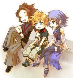 Terra Aqua Ven (Kingdom Hearts : Birth By Sleep)