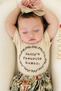 Daddy's favorite human organic onesie baby boy girl unisex gender neutral infant toddler n&; Daddy's favorite human organic onesie baby boy girl unisex gender neutral infant toddler n&; Ashleigh Orn spacochaorn Baby Clothing Daddy's […] So Cute Baby, Cute Kids, Cute Babies, Organic Baby Clothes, Cute Baby Clothes, Neutral Baby Clothes, Babies Clothes, Baby Wallpaper, Baby Outfits