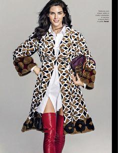 Хилари Рода на обложке итальянского Glamour (Интернет-журнал ETODAY)