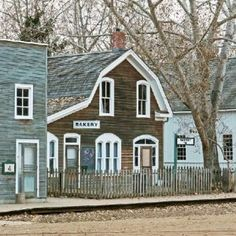 Fort Edmonton Park, Alberta, Canada - known for being an old Hudson Bay Co. trading post