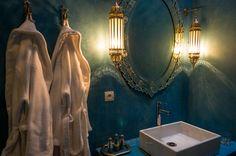 The bathroom in our Azrak Suite
