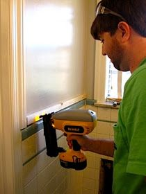 Beadboard Over Tile How To