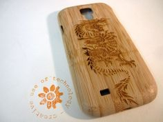 ON SALE Samsung Galaxy S4 case  wooden cases by CreativeUseofTech, $35.10
