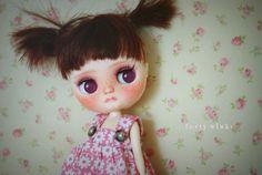 Cookie ❤ Tiina Custom Middie, Handpainted eyechips by My Delicious Bliss.