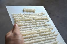 Textscapes: Words That Come Right Off the Page, Literally