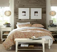 Love this bedroom by pottery barn!