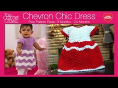 Crochet Chevron Dress Tutorial | Red Heart