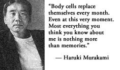 For more information about Haruki Murakami: http://www.Dailyliteraryquote.com/dlq-literature-magazine/  Courtesy of http://www.DailyLiteraryQuote.com.  More quotes and social literary discussions at CulturalBook.com