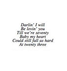 gosh, i just love this song !! *hopeless romantic* Thinking Out Loud- Ed Sheeran