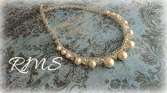 卒業式の為にオーダー頂いたネックレスです Pearl Necklace, Pearls, Jewelry, Jewlery, Jewels, Beads, Pearl Necklaces, Jewerly, Beading