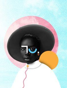 Graphic Design Discover Shapes & Portraits Shapes & Portraits on Behance Poster Cars, Poster Sport, Poster Retro, Collage Design, Art Design, Graphic Design Posters, Graphic Design Inspiration, Photo Illustration, Digital Illustration