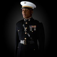 """The Marine Corps has been called by the New York Times the ""elite"" Corps of this country. I think it is the ""elite"" Corps of the world. Marine Corps Symbol, Marine Corps Officer, Marine Corps Recruiting, Once A Marine, My Marine, Dress Blues Marines, The Few The Proud, Military Women, Army & Navy"