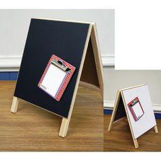 "Hampton Dry Erase Magnetic Chalkboard Easel-8""X12"""