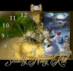 Novoroční přání Christmas Eve, Christmas And New Year, Christmas Ornaments, Old Postcards, Happy New Year, Advent, Good Morning, Bff, Diy And Crafts