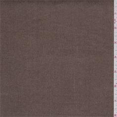 Solid Dark Tan Stretch Corduroy FabricSoft with a nice stretch16 WaleCompare to $12.00/yd