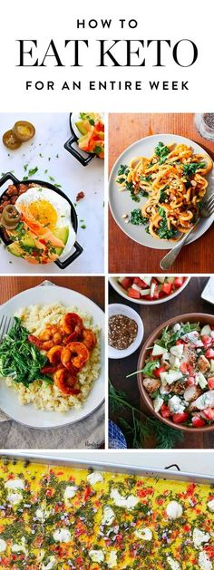It's time to give the ketogenic diet a whirl. We've rounded up a week's wo… It's time to give the ketogenic diet a whirl. We've rounded up a week's worth of creative keto recipes to get you started—or keep you going. (Zero boring egg dishes, we promise. Cetogenic Diet, Ketogenic Diet Meal Plan, Diet Meal Plans, Ketogenic Recipes, Paleo Recipes, Low Carb Recipes, Egg Diet, Paleo Diet, Ketosis Diet