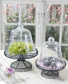 Under a glass Candle Lanterns, Candles, The Bell Jar, Bell Jars, French Country Cottage, Apothecary Jars, Home And Living, Decorative Items, Tablescapes