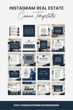 Social Media Instagram, Instagram Posts, Social Media Design, Social Media Template, Marketing Digital, Inmobiliaria Ideas, Social Media Quotes, Social Media Posts, Social Media Graphics
