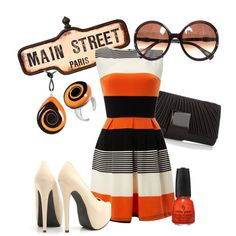 Sweet Orange., created by kira-86 on Polyvore