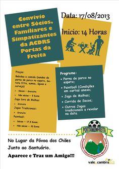 Convívio ACDRS Portas da Freita > 17 Agosto 2013 - 14h00 @ Póvoa dos Chões, Cepelos, Vale de Cambra #ValeDeCambra #CepelosVLC