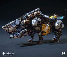 ArtStation - Horizon Zero Dawn - Behemoth, Lennart Franken