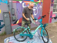 Collaboration with OFO bikes for Festival of the Arts in North Park