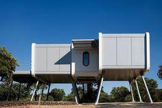 NOEM's prefabricated spaceship home lands in central spain