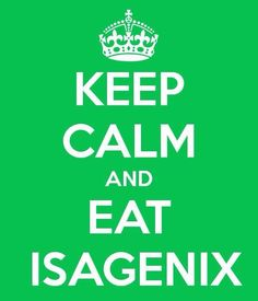 I love ISAGENIX!  Changed my life FOREVER!  More Energy, Mental Clarity and 2 pant sizes gone in 30 days - still gone 5 years later!  For a free sample: www.goforit.leanshakesample.com     www.kimfreese.com