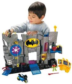 The Batman v. Superman: Dawn of Justice Batcave is a playset that will make fans of both superheroes happy. The Batcave playset has four different levels for play and stands four feet tall so it provides the perfect setting for children to act out all their favorite scenes from the Batman v. Superman movie.
