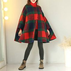 Buykud is a professional designer for woman casual loose linen cotton clothes, you can find all kinds of women linen vintage coats and irregular casual loose long coats. Plus Size Pants, Vintage Coat, Loose Sweater, Cloak, Cotton Linen, Fashion Forward, Casual Winter, Wool, How To Wear