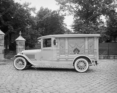 Ford Motor Co Hanlon Lincoln Hearse1930 Vintage 8x10 Reprint Of Old Photo 2