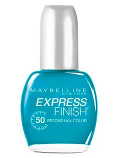 Easiest to Use: Maybelline New York Express Finish Nail Color ($4.25; drugstores, mass retailers)