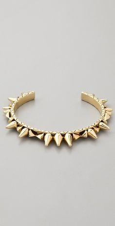 Love this spiked cuff - House of Harlow 1960